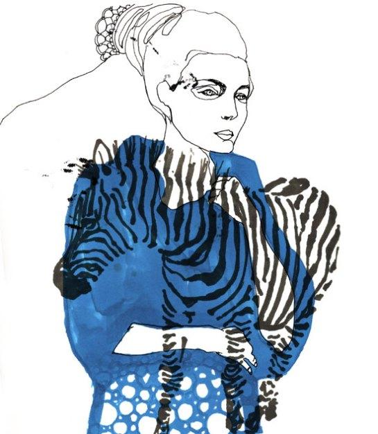 cebra blu